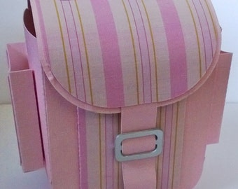 Back to School, First day of School Backpack Gift Box in Pink. Includes UK Postage