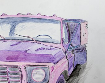 Old Truck, digital copy