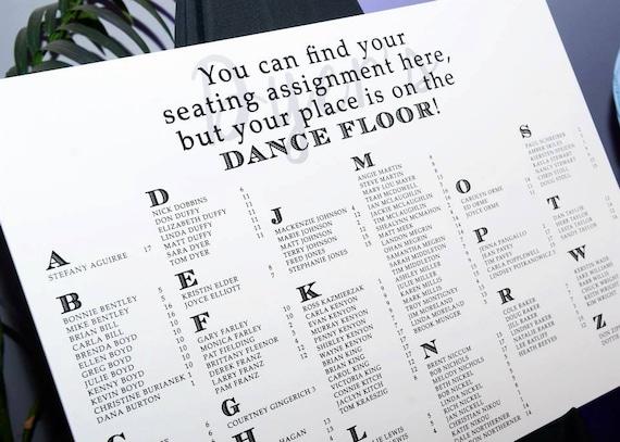 Seating chart poster hatch urbanskript co