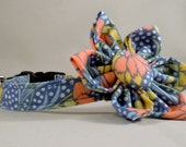Cat Collar and Bow Tie or Flower - Lifestyle