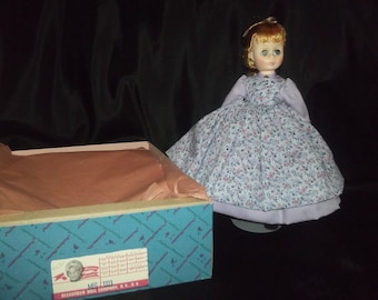collectible 12 inch Madame Alexander doll/ Meg from Little Women/