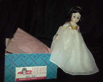 """Collectible 12"""" Madame Alexander doll set/ Romeo and Juliet"""