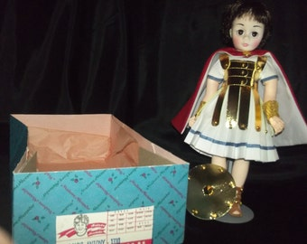 """Collectible 12"""" Madame Alexander doll set/ Marc Antony and Cleopatra"""