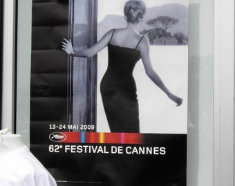 Cannes Film Festival. Surreal poster.