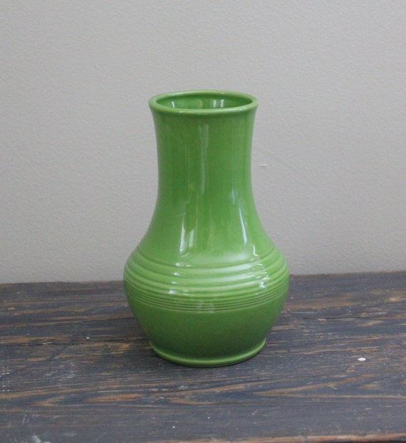 Vintage Vase Fiesta Shamrock Royalty