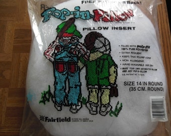 Pillow Form or Pillow Insert 14 inch round