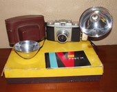 Kodak Pony IV Camera Kit Vintage 1950s