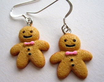 Fun Gingerbread earrings