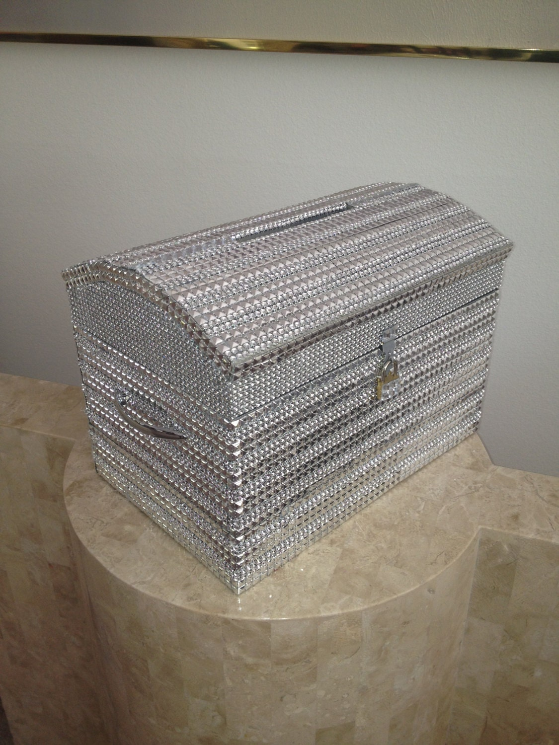 Bling card box – Wedding Money Card Box
