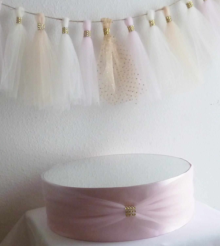 blush pink satin gold bling mirror wedding by