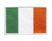 Ireland Flag Embroidered Patch