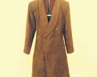 Vintage Faux Suede Coat custom made