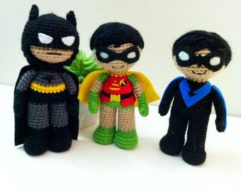 Amigurumi Batman Deutsch : 2 or more Patterns