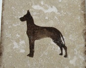 Great Dane Images, Coasters, Dog Lover Gift, Tile Coasters