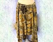 Eucalyptus Asymmetric Skirt