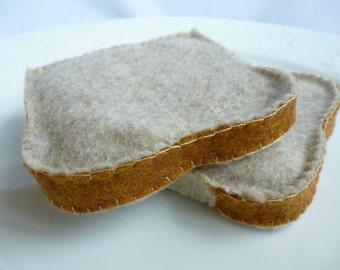 Felt Bread Slice Felt Toast