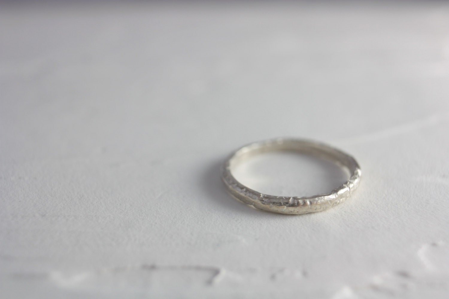 Sterling Silver Simple Ring Silver Ring Simple Ring