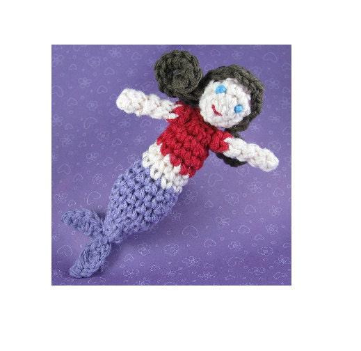 Quick Amigurumi Crochet Patterns : Amigurumi Crochet Pattern Quick and Easy Cute Mermaid
