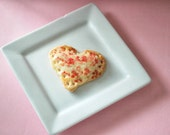 Heart Shaped Mini Hand Pies (12) Edible Favors, Valentines Day Gift, Wedding Birthday Baby Shower Bridal Shower Edible Gift