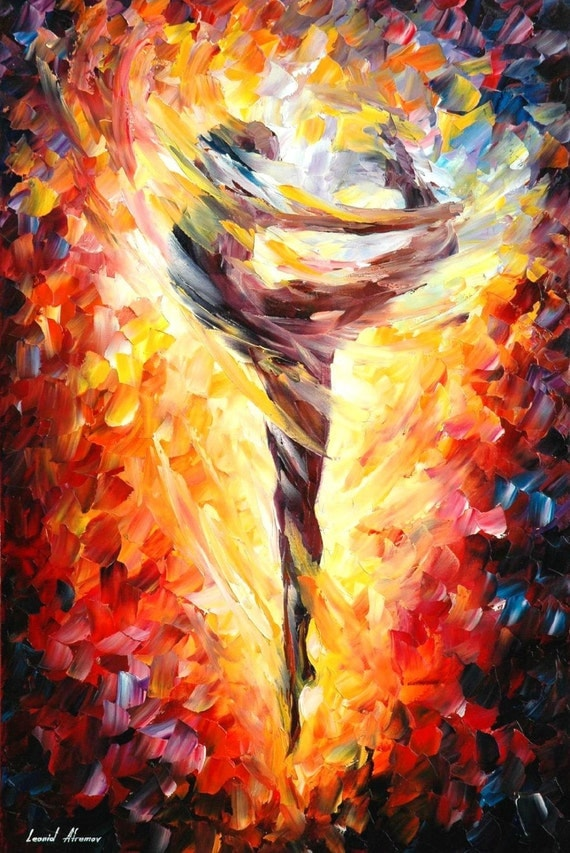 Nude Wall Art Naked Girl Painting On Canvas By Leonid Afremov
