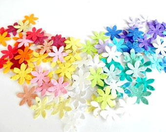 Daisy Flower Confetti - Plantable Paper Flowers - Eco Friendly Wedding and Party Decoration - Toss and Grow