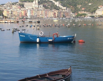 Portovenere, photograph of the beautiful Italian coastal town.