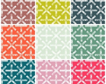 Sun Print X and Plus Fat Quarter Bundle by Alison Glass for Andover Fabrics COMPLETE