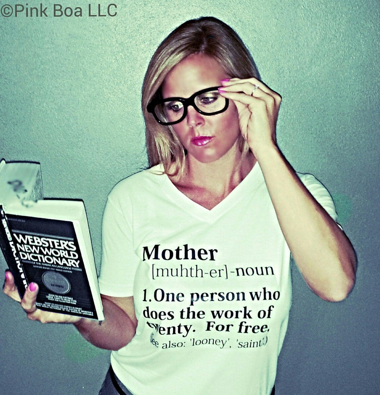 Funny T Shirt Mom Shirt with sayings Mom by LivAndCompanyShop