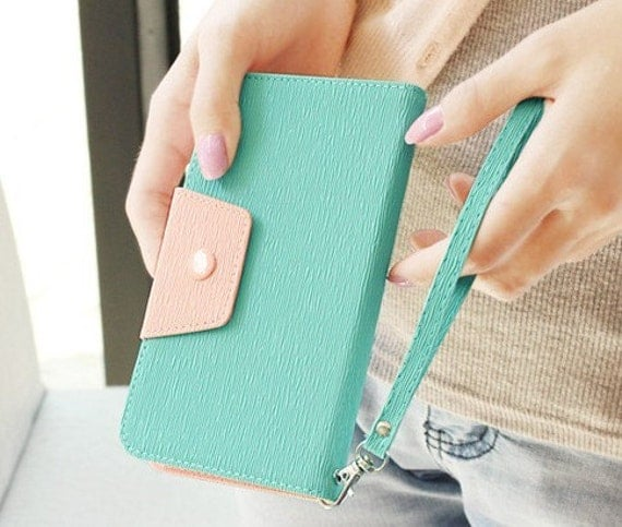 Wallet case for samsung Note2  samsung  case samsung N 7100 case wallet