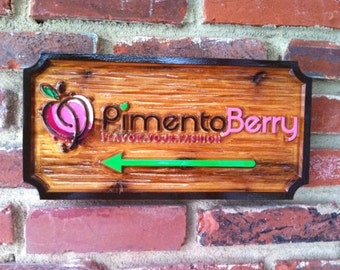 Professional Carved Business Signs - Custom Made Signs
