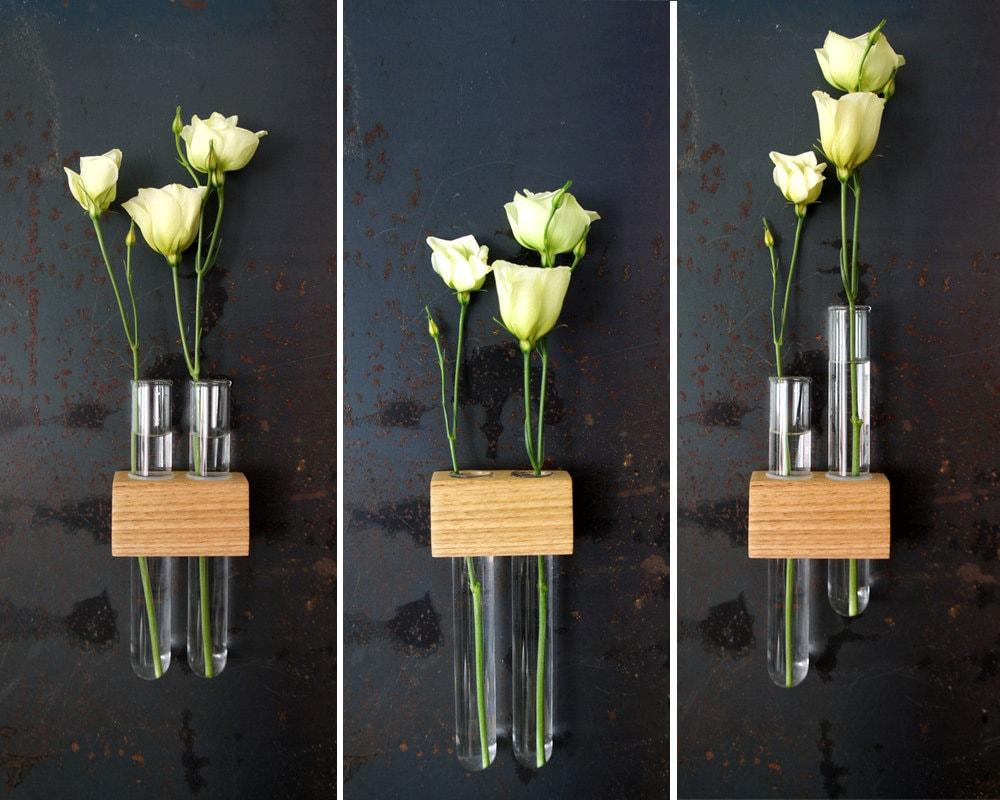Magnetic Test Tube Flower Bud Vase