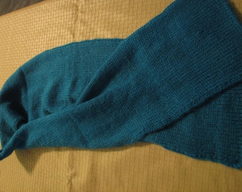 S-070 - S-073 Blue Knitted Scarf