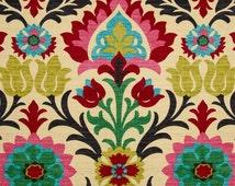 ships same day waverly santa maria desert flower home decor damask fabric drapery in pink