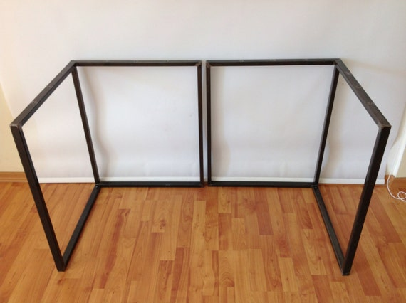 Items Similar To 28 X 23 X 23 Table Bases Steel Frame