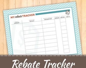 Rebate Tracker -Track receipts
