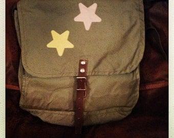 Starry military satchel