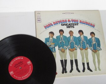 1969 Vinyl Record Album STEREO Paul Revere & the Raiders Greatest Hits