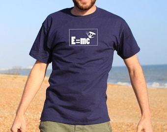 Kite surfing E mc2 Kite boarding T-shirt