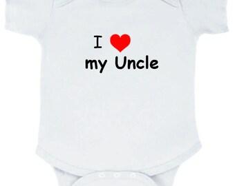 I love my Uncle onesie