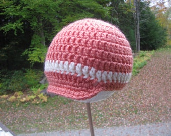 Girl Newsboy Crochet Cap