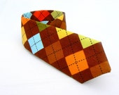 christmas holidays gift, present,,little boy tie, boys necktie,brown argyle, nursery,little man ties, free shipping