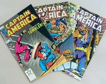 Captain America issues 291 to 293