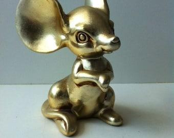 Vintage Golden Mouse