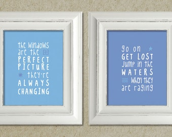 kings of leon art prints / the immortals lyrics // package deal / discounted price / sale