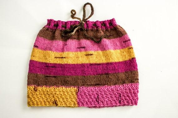Knitting Pattern Baby Skirt : KNITTING PATTERN Baby Girls Skirt Knitted Baby Girl Winter