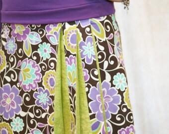 Origami pleated skirt pattern: Ladies' Edition - PDF pattern