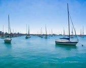 Chicago Harbor, 8 X 10 photograph, fine art photographic print - AsteriskPhotoart