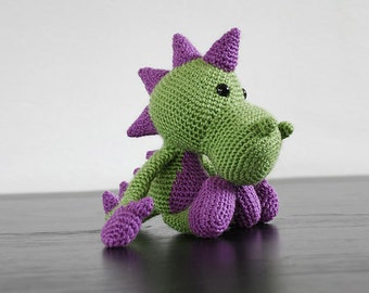 Amigurumi pattern dragon
