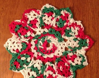 Christmas Doilies (set of 2)