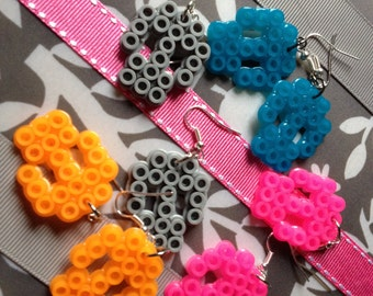 8-Bit Skull Earrings